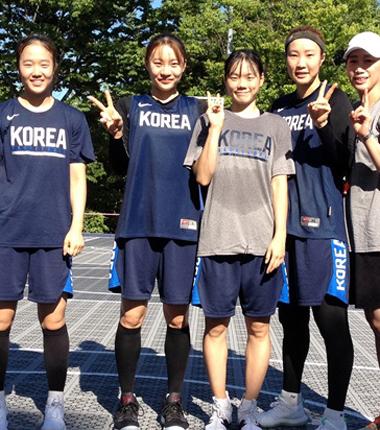 AG 女 3대3 농구대표팀, 아침 7시 30분 훈련 현장!